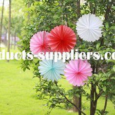 tissue paper fan , Manufacturers from Hangzhou Sunbeauty Art & Crafts Co., Ltd.