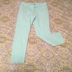 Mossimo Mint Capris Mossomio Mint Capris Stretch & Extensible. Size: 8 Mossimo Supply Co Jeans Ankle & Cropped