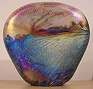 John Ditchfield Glass - Landscape Paperweight