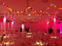 Cable & Cotton wedding dinner.