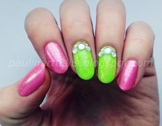 Art Nails by Paulina: Karuzela z cyrkoniami od Lady Queen    http://www.ladyqueen.com/300pcs-glitter-mixed-gems-colorful-crystal-3d-nail-art-decoration-tip-rhinestone-wheel-na0278.html