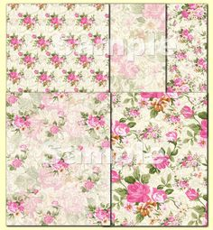 Instant Download  Summer of Beauty Paper by CountryAtHeart2008, $4.99