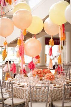 Wedding reception idea; Event Design: White Lilac Inc.