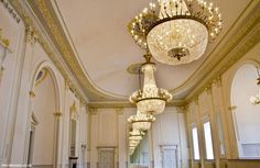 The beautiful, beautiful, beautiful refurbished interior of the Assembly Rooms, George Street Drawing Room, Edinburgh, Backdrops, Restoration, Chandelier, Ceiling Lights, Contemporary, Interior, Rooms