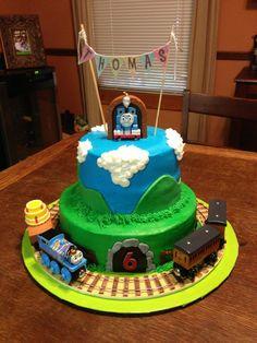 Thomas the train birthday cake!