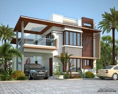 Peninsula Solitaire villa Project at sarjapur, bangalore. call: 8884449026 for more info on the project Modern Bungalow Exterior, Modern Bungalow House, Dream House Exterior, Modern Small House Design, Duplex House Design, House Front Design, Model House Plan, New House Plans, House Extension Design