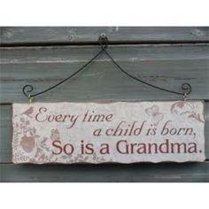 Heaven Sends - Grandma Sign   Spencer Thorn