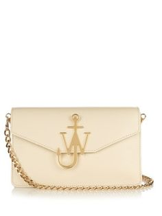 Monogram leather shoulder bag | J.W.Anderson | MATCHESFASHION.COM US