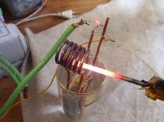 homemade induction furnace - Google Search