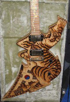 Tiger guitar!