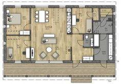 Sauna, Future House, House Plans, House Ideas, Floor Plans, Houses, How To Plan, Architecture, Garden