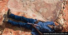 La huella más grande de dinosaurio ha sido encontrada en el Jurassic Park de Australia