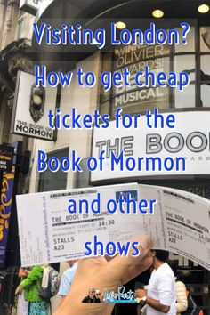 Ever wanted to see a West End Show in London but don't want to pay the crazy prices. Find out how to play the theatre ticket lottery for Book of Mormon and other popular shows. Europe Destinations, Europe Travel Guide, Travel Guides, Amazing Destinations, Solo Travel Tips, Travel Advice, Scotland Travel, Ireland Travel, London Travel
