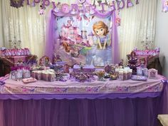 Sofia birthday party design