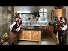 Fresh Massivholzk che in Schloss Weiherhaus http die moebelmacher de