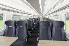 The Super Express trains can accommodate 700 seated passengers in ten-car configuration. Image courtesy of DCA.