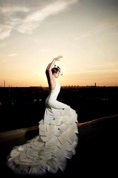Mi vestido de bodas dentro de algunos siglos :3 XD