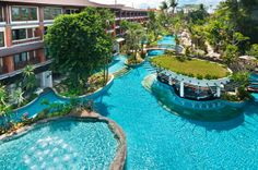 Padma Resort in Bali-just one of the pools!