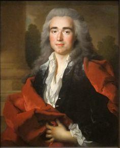 Portrait of Anne Louis Goislard de Montsabert, Comte de Richbourg-le-Toureil (Nicolas de Largillière - 1734)