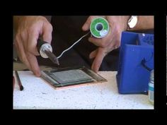 Soldering Tips and Tricks Part 2 of 2 - YouTube  Solid soldering techniques and instruction for copperfoil.