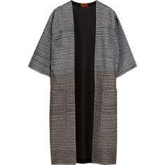 Missoni Oversized crochet-knit coat found on Polyvore