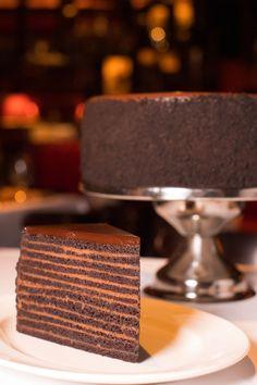 24-Layer Chocolate Cake, Strip HouseDelish