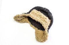 Baby Aviator Hat - Knitting pattern - Kids Trapper Hat at Makerist Crochet Beanie, Knitted Hats, Knitting Patterns, Crochet Patterns, Aviator Hat, Baby Knitting, Knitting Needles, Trapper Hats, Knit Patterns