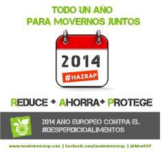 2014, Año Europeo contra el #desperdicio de #alimentos #HazRAP