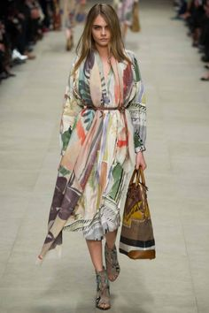 Cara Delevingne - Burberry Prorsum ready-to-wear autumn/winter '14/'15