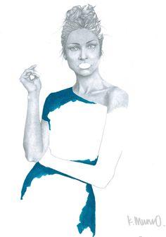 Fine Art Print from Original Fashion by KatieMunroPrints on Etsy Book Illustration, Fine Art Prints, Wall Art, The Originals, Portrait, Painting, Etsy, Beautiful, Vintage