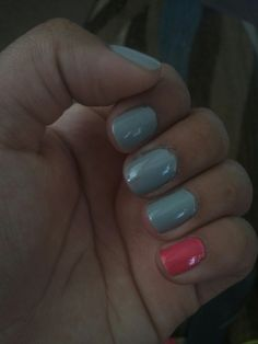 Back to school nails :)