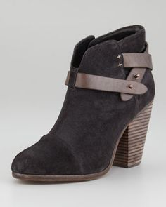 Harrow Strappy Ankle Boot by Rag & Bone at Neiman Marcus.