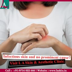 Scorching heat brings sweaty conditions that may lead to fungal and bacterial infections. Treat your infectious skin condition with Dr. Latika Arya and enjoy every season with healthy skin. Call +919716022666 now. #LASkin #Aesthetic #Clinic #BacterialInfections #SkinProblems #SkinSolution #HealthySkin