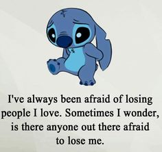 disney quotes I feel the same stitch - quotes Quotes Deep Feelings, Hurt Quotes, Mood Quotes, Life Quotes, Qoutes, Lyric Quotes, Family Quotes, Quotes Quotes, Citations Disney