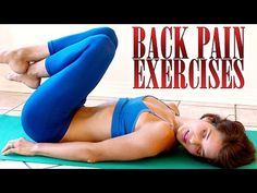Back Pain Relief Exercises & Stretches – How To Relieve Back Pain At Home - YouTube