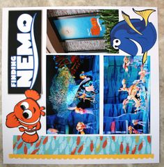 Nemo Disney World - Scrapbook.com his literally just made me so happy and sad at the same time! Miss it so freakin much
