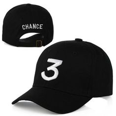 86376590bf8 the Chance Rapper 3 Hat Fashion Hip-pop Baseball Hat Cap Adjustable Black  Hip Hop Gothic gorro Dad Hat Yeezy Strapback Cap(China (Mainland))