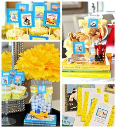 Golden Books Baby Shower (with Free Printables!)