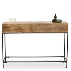 Modular Console Table - Natural