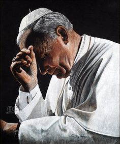 Shirley Morgan Pope John Paul II In Prayer Giclee On Canvas Artist Proof   SAPOPEAPS http://www.thecollectionshop.com/xq/ASP/Shirley-Morgan-Pope-john-paul-II-in-prayer-giclee-on-canvas/S.SAPOPEAPS/A.1377/qx/Limited_Edition_Art_Detail_Page.htm $350.00 #ShirleyMorgan