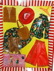 *1971 Fashion Gaucho gear Barbie outfit 2 #3436