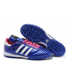 Latest Soccer Shoes 2014 Brazil World Cup Adidas Copa Mundial TF Deep Blue Red White Boots Store Adidas Soccer Shoes, Soccer Boots, Adidas Football, Football Shoes, Football Cleats, Samba, Cheap Soccer Cleats, Boots Store, Shoes 2014