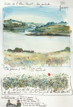 Une Bretagne par les contours / Rives de l'Aber-Benoît -Blog de carnets de voyage à découvrir !!