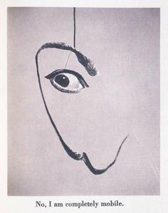 Dalí's Moustache, 1954