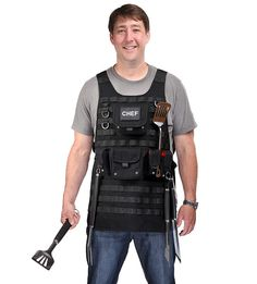 Tactical BBQ Apron, A Necessity For Any Chef's Grilling Arsenal