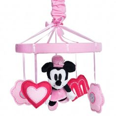 New Baby Girl Nursery Themes Princess Disney Minnie Mouse Ideas Disney Themed Nursery, Baby Girl Nursery Themes, Baby Boy Nurseries, Nursery Ideas, Nursery Inspiration, Baby Cribs, Minnie Mouse Nursery, Mickey Minnie Mouse, Reborn Toddler Dolls