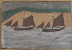 Alfred Wallis 'Two Boats', c.1928