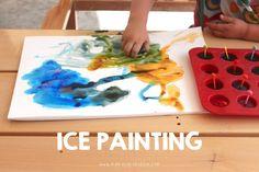 Ice Painting | Mama.