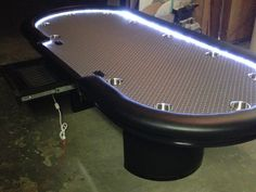 Custom Poker Tables   With Lights