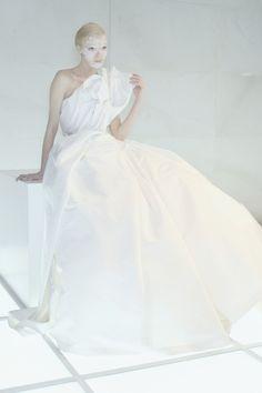 Mariacarla Boscono wearing Givenchy